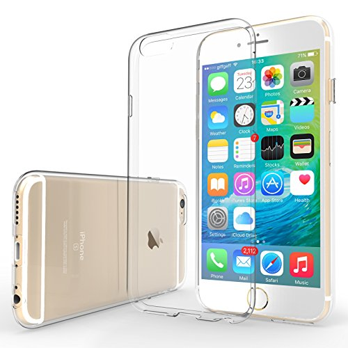 Yousave Accessories iPhone 6S Case Super Slim Clear Silicone Gel Cover