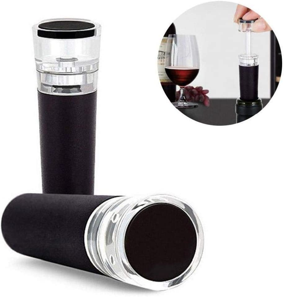 Bottle Stopper Wine Storage Wine Reusable Vacuum Sealed Red Wine Bottle Stopper Wine Accessories Bar Accessories