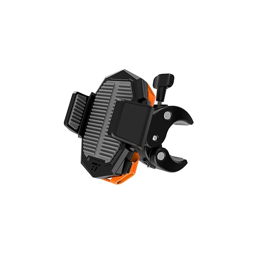 TaoTronics Bike Phone Mount, Phone Holder for Bike with Universal Cradle Clamp for iOS & Android Smartphones, Motorcycle and Bicycle Holder for iPhone X 8 Plus 7 Plus Samsung Galaxy S9 S8 S7 and More