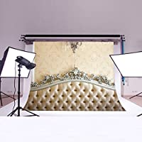 LB 7X5ft Headboard Vinyl Photography Backdrop Customized Photo Background Studio Prop DB474