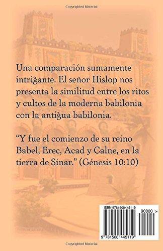 libro las dos babilonias de alexander hislop