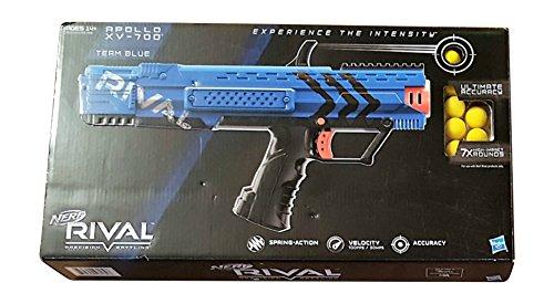Nerf Rival Apollo-Vest-Mask-Pellet Team Blue Bundle