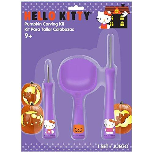 Gemmy Hello Kitty Pumpkin Carving Kit - Tools & Patterns