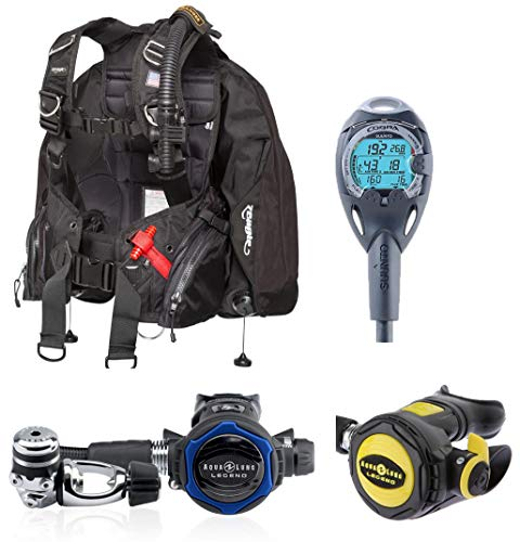 - Huish Outdoors Aqua Lung, Zeagle, Suunto Cobra, Legend Regulator, Ranger BCD, Holiday Savings Dive Gear Package