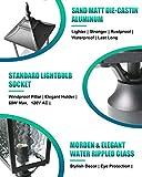 BEEZOK Exterior Lantern Outdoor Post Light - 2 Pack