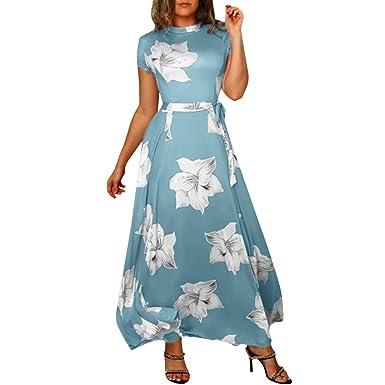 3d810ddd827 Vectry Vestidos Fiesta Estampados Vestidos De Fiesta Largos Elegantes  Vestidos Casuales para Mujer Vestidos Mujer Primavera