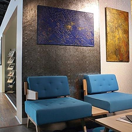 Revestimiento mural Vintage Panel decorativo autoadhesivo 3D WallFace 17237 RIVET Shabby Chic plateado gris 2,60 m2: Amazon.es: Bricolaje y herramientas