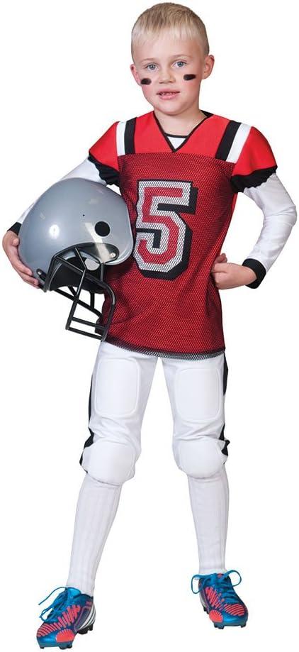 Disfraz de jugador de futbol americano niño - De 8 a 10 años ...