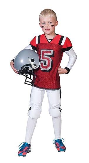 Disfraz de jugador de futbol americano niño - De 8 a 10 años: Amazon.es: Juguetes y juegos