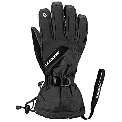 SCOTT Men`s Ultimate Hybrid Glove, L, BLACK