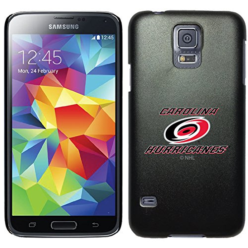 Coveroo Commuter Series Cell Phone Case for Samsung Galaxy S5 - Carolina Hurricanes Primary (Series 5570)