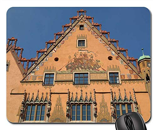 Mouse Pads - Town Hall ULM Window Facade Painting Ulmer Hall 1 ()