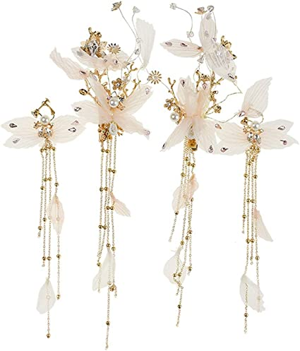 Sweet Women Fairy Butterfly Hairpin Barrette Delicate Hair Grip Clamp Clip Claw