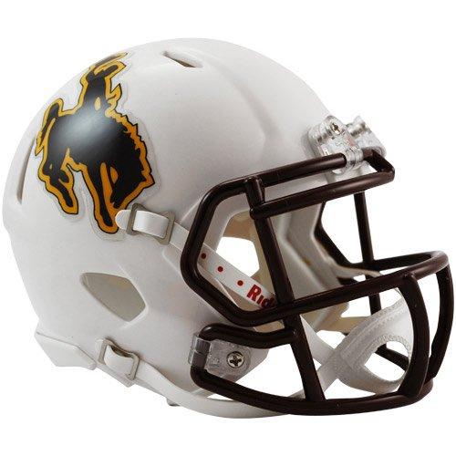 NCAA College Mini Football Helm/Helmet Wyoming Cowboys Speed Riddell 3002143