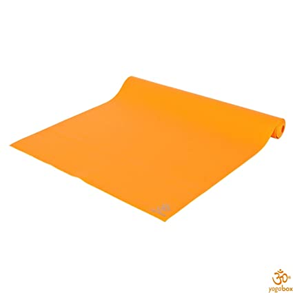 Yogabox Estera de Yoga Superlight Viaje Mat, Naranja: Amazon ...