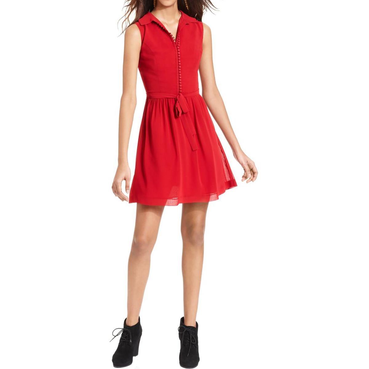 450105fadad7f Kensie Women's Crepe Chiffon Dress at Amazon Women's Clothing store: