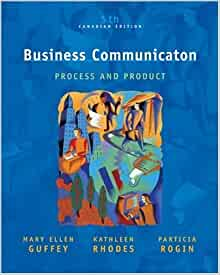 business communication process and product 5th edition pdf