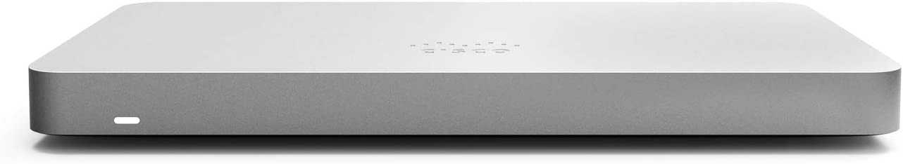 Cisco Meraki MX68 Cloud-Managed Security Appliance | MX68-HW | 450 Mbps throughput | Firewall and DHCP Device