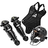 All Star Youth League Series Catchers Gear Sets Tee Ball Black