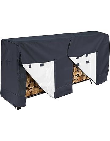 Cubierta para armario de leña de jardín, resistente al polvo, impermeable, a prueba
