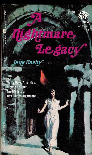 A Nightmare Legacy, Corby, Jane