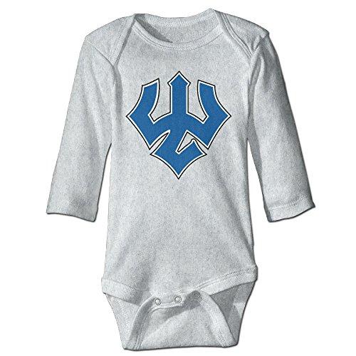 Price comparison product image OOKOO Baby's Washington & Lee University Bodysuits Ash 24 Months
