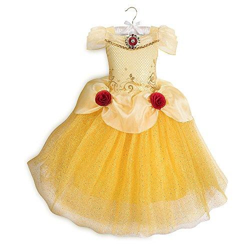 Disney Belle Costume for Kids Yellow (5/6) ()