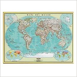 Mapa Del Mundo Spanish Edition Guia Roji 9789706214911 Amazon