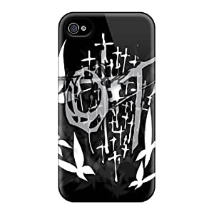 LJF phone case Bernardrmop Snap On Hard Case Cover Goth Protector For Iphone 4/4s