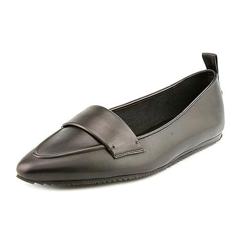 Calvin Klein Sydney - Mocasines para mujer negro negro, color negro, talla 37.5: Amazon.es: Zapatos y complementos
