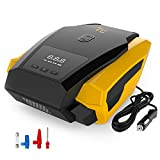 #7: Portable Tire Inflator Pump, 12V 150 PSI Auto Digital Electric Emergency Air Compressor Pump for Car,Truck,SUV,Basketballs and Other Inflatables