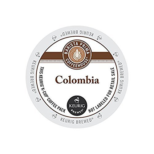 Barista Prima Coffeehouse Colombia, Single Serve Coffee K-Cups, 48-Count For Brewers