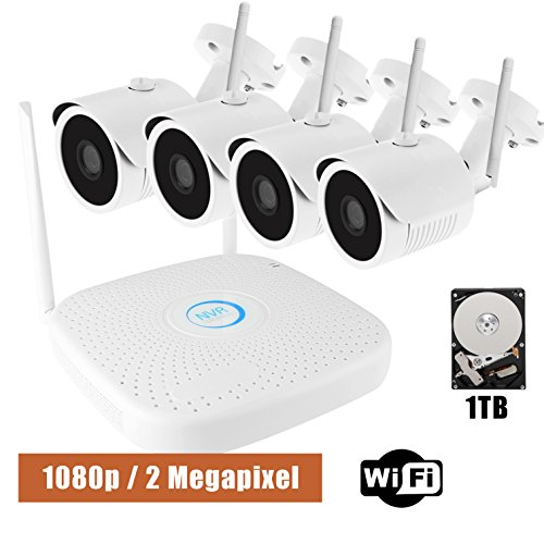 Owliv 1080p 2 0mp Smart Wifi Ip Camera System 4ch Kit