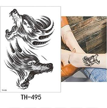 yyyDL tatuajes temporales Etiqueta engomada del tatuaje temporal ...