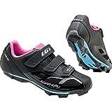 Louis Garneau Women's Multi Air Flex Cycling Shoe (41, Black/Pink)