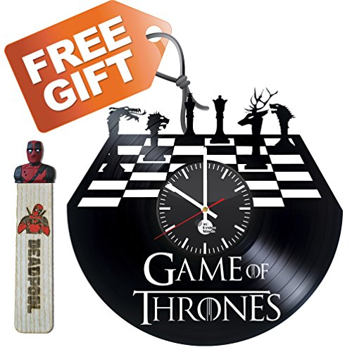 Game of Thrones Television Series Handmade Vinyl Record Wall