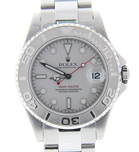 Rolex Yacht-Master 35mm automatic-self-wind womens Watch 168622 (Certified Pre-owned) by Rolex