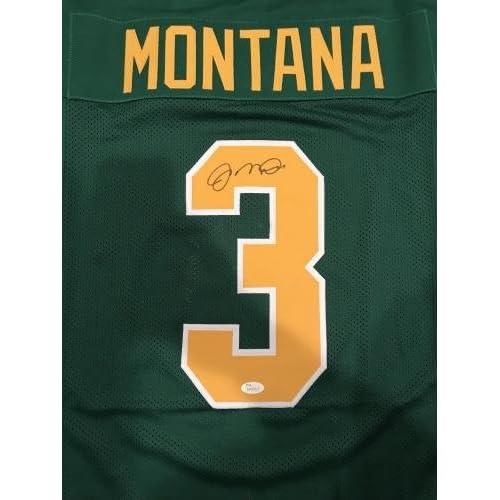 e1cbb86cb6a Autographed Joe Montana Jersey - Witness 49ers - JSA Certified - Autographed  College Jerseys