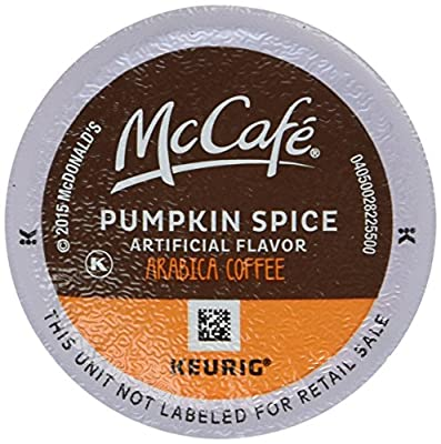MCCAFE Pumpkin Spice Coffee, K-CUP PODS, 12 Count
