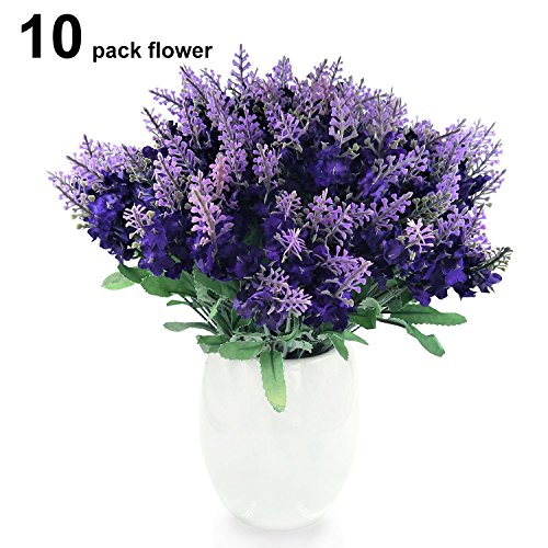 Amazon coupon code for conjugal bliss artificial lavender silk conjugal bliss artificial lavender silk flower 10 bouquet organic purple lavender fake flowers for wedding mightylinksfo