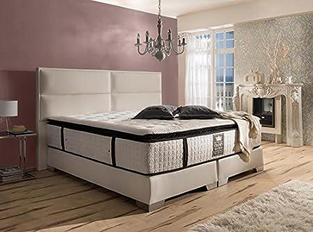 Schlichter Möbel Cama con somier Cama Preston Deluxe, Beige ...