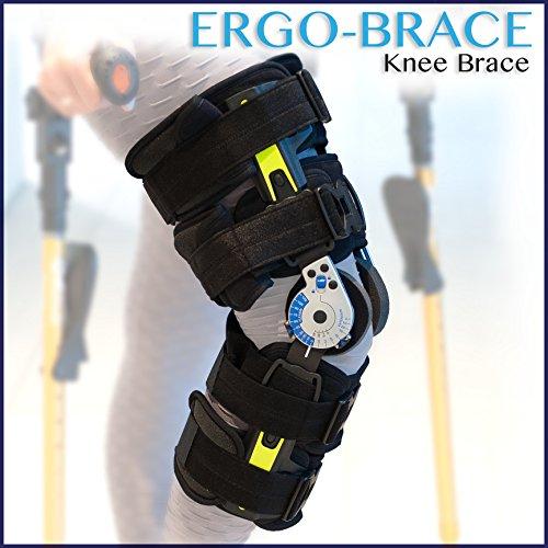 Ergoactives ErgoBrace G1 KPA Post Op Knee Brace by Ergoactives