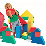 Edushape Giant Foam Blocks Construction Toy - 32 pcs