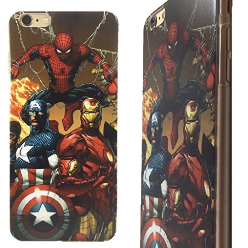 Superhero Clip-On Case for iPhone 6 Plus and 6s Plus (Avengers 3)