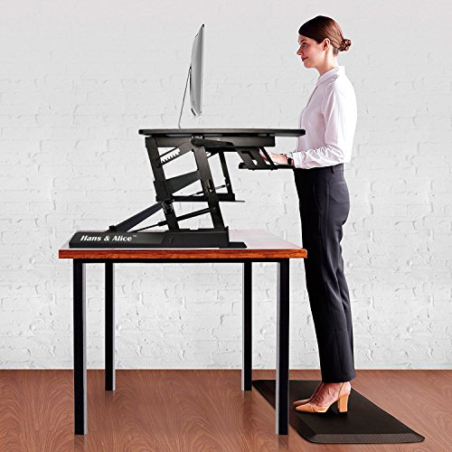 Hans Amp Alice 36 Height Adjustable Stand Up Desk Standing