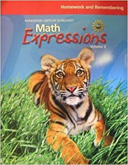 Book Houghton Mifflin Harcourt: Math Expressions- Homework and Remembering by Karen C. Fuson (2008-05-22)