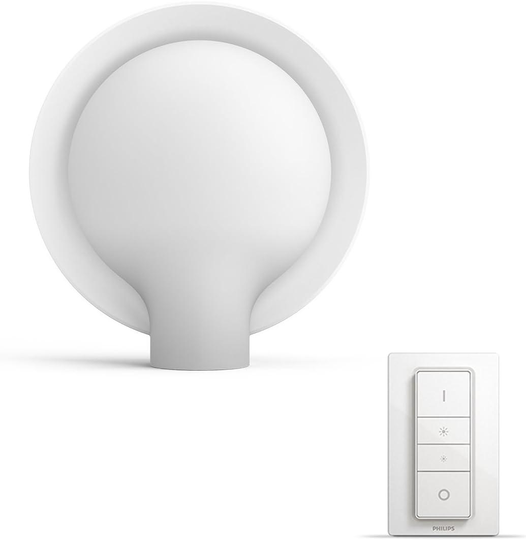 Philips Hue Felicity Lámpara de Mesa Inteligente LED con Mando ...