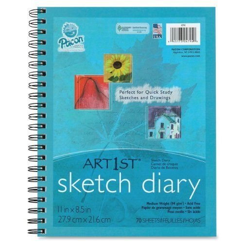 (Pacon 4794 Art1st Sketch Diary, 8.5