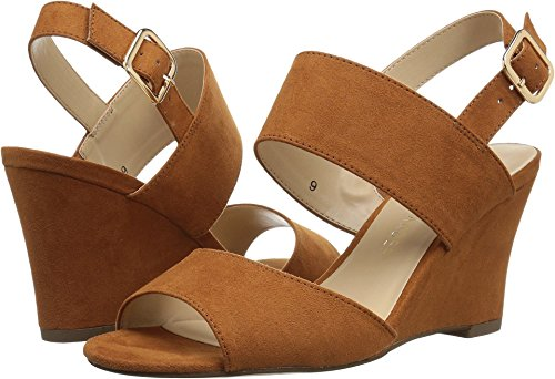 Athena Alexander Women's Slayte Wedge Sandal, Tan/Suede, 11 M US