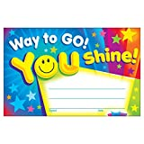 TREND enterprises, Inc. Way to Go! You Shine! Recognition Awards, 30 ct